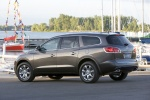 2012 Buick Enclave CXL in Cocoa Metallic - Static Rear Three-quarter View