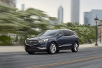 2018 Buick Enclave Avenir in Dark Slate Metallic - Driving Front Left Three-quarter View