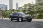 2018 Buick Enclave Avenir in Dark Slate Metallic - Driving Front Right Three-quarter View