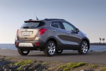 2015 Buick Encore in Cocoa Silver Metallic - Static Rear Right Three-quarter View