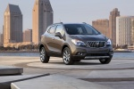 2015 Buick Encore in Cocoa Silver Metallic - Static Front Right Three-quarter View