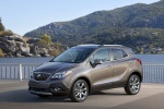 2015 Buick Encore in Cocoa Silver Metallic - Static Front Left Three-quarter View