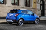 2017 Buick Encore in Coastal Blue Metallic - Static Rear Right Three-quarter View