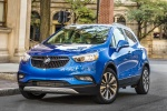 2017 Buick Encore in Coastal Blue Metallic - Static Front Left View
