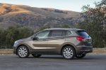 2017 Buick Envision AWD in Bronze Alloy Metallic - Static Rear Left Three-quarter View