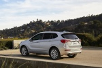 2019 Buick Envision AWD in Galaxy Silver Metallic - Static Rear Left Three-quarter View