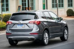 2019 Buick Envision AWD in Satin Steel Metallic - Driving Rear Right View