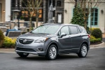 2019 Buick Envision AWD in Satin Steel Metallic - Driving Front Left View