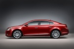 2011 Buick LaCrosse CXS in Red Jewel Tintcoat - Static Side View