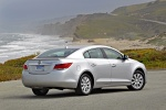 2013 Buick LaCrosse eAssist in Quicksilver Metallic - Static Rear Right Three-quarter View