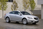 2011 Buick Regal CXL in Quicksilver Metallic - Static Front Right Three-quarter View