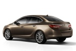 2013 Buick Verano in Mocha Bronze Metallic - Static Rear Three-quarter View
