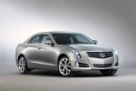 2013 Cadillac ATS 2.0T in Radiant Silver Metallic - Static Front Right Three-quarter View
