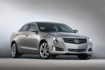 2013 Cadillac ATS 2.0T in Radiant Silver Metallic - Static Front Right View
