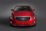2015 Cadillac ATS Coupe 3.6 in Red Obsession Tintcoat - Static Frontal View
