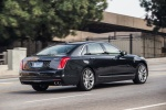 2016 Cadillac CT6 3.0TT AWD Sedan in Dark Adriatic Blue Metallic - Driving Rear Right Three-quarter View