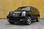 2011 Cadillac Escalade ESV in Black Raven - Static Front Left Three-quarter View