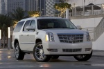 2011 Cadillac Escalade ESV in White Diamond Tricoat - Static Front Right View