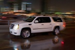 2011 Cadillac Escalade ESV in White Diamond Tricoat - Static Front Left View