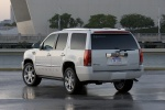 2011 Cadillac Escalade Hybrid in White Diamond Tricoat - Static Rear Left Three-quarter View