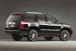2012 Cadillac Escalade in Black Raven - Static Rear Right Three-quarter View
