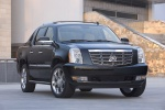 2012 Cadillac Escalade EXT in Black Raven - Static Front Right Three-quarter View