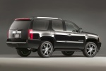 2013 Cadillac Escalade in Black Raven - Static Rear Right Three-quarter View