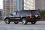 2013 Cadillac Escalade ESV in Black Raven - Static Rear Left Three-quarter View