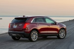 2019 Cadillac XT5 AWD in Red - Static Rear Right Three-quarter View