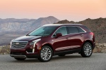 2019 Cadillac XT5 AWD in Red - Static Front Left Three-quarter View