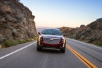 2019 Cadillac XT5 AWD in Red - Driving Frontal View