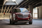 2019 Cadillac XT5 AWD in Red - Driving Front Right View