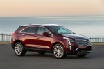 2019 Cadillac XT5 AWD in Red - Static Front Right Three-quarter View