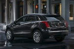 2019 Cadillac XT5 AWD in Dark Granite Metallic - Static Rear Left Three-quarter View