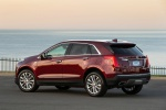 2019 Cadillac XT5 AWD in Red - Static Rear Left Three-quarter View