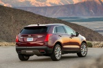 2019 Cadillac XT5 AWD in Red - Static Rear Right View
