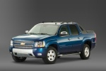 2010 Chevrolet Avalanche in Imperial Blue Metallic - Static Front Left Three-quarter View