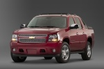 2010 Chevrolet Avalanche in Victory Red - Static Front Left Three-quarter View