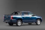 2012 Chevrolet Avalanche in Imperial Blue Metallic - Static Rear Right Three-quarter View