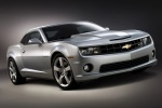 2010 Chevrolet Camaro SS Coupe in Silver Ice Metallic - Static Front Right View