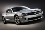 2011 Chevrolet Camaro SS Coupe in Silver Ice Metallic - Static Front Right View