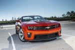 2013 Chevrolet Camaro ZL1 Convertible in Victory Red - Static Frontal View