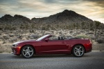 2015 Chevrolet Camaro SS Convertible in Red Rock Metallic - Static Side View
