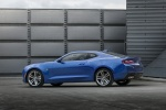 2016 Chevrolet Camaro RS Coupe in Hyper Blue Metallic - Static Rear Left Three-quarter View