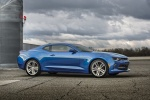 2016 Chevrolet Camaro RS Coupe in Hyper Blue Metallic - Static Front Right Three-quarter View