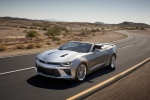 2016 Chevrolet Camaro Convertible in Silver Ice Metallic - Driving Front Left Three-quarter View
