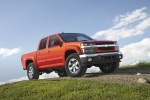 2011 Chevrolet Colorado Crew Cab LT V8 Z71 in Tangier Orange - Static Front Right Three-quarter View