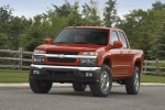 2011 Chevrolet Colorado Crew Cab LT V8 Z71 in Tangier Orange - Static Frontal View