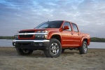 2011 Chevrolet Colorado Crew Cab LT V8 Z71 in Tangier Orange - Static Front Left View
