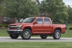 2011 Chevrolet Colorado Crew Cab LT V8 Z71 in Tangier Orange - Static Front Left Three-quarter View
